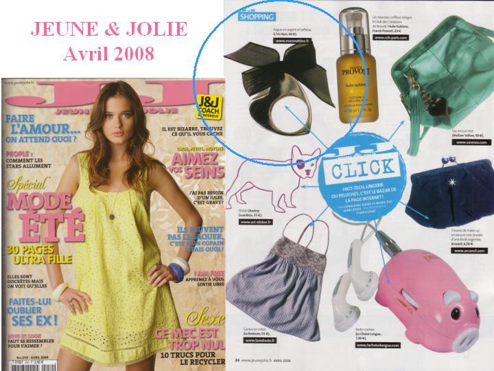 Sélection shopping présentant la bague E'Coeur moi de L'Iris Noir